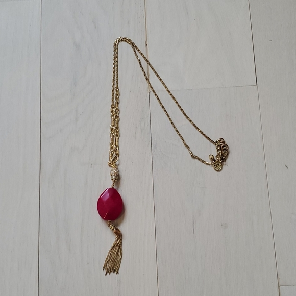 Lilly  Pulitzer Tassel Necklace